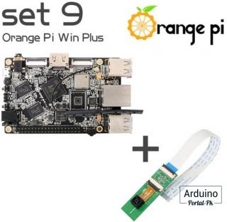 Orange Pi Win Plus + камера 2 Мр