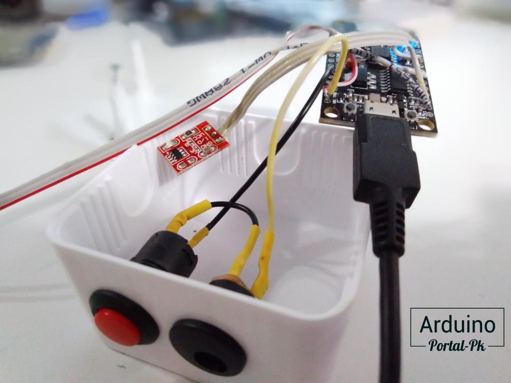 Электроника для управления гирляндой на ESP8266