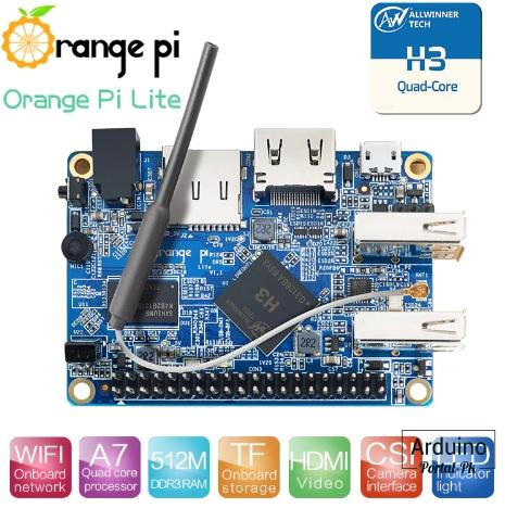 однопалатнsq компьютер Orange Pi Lite.