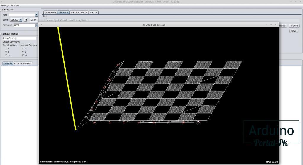 Сравнение программ LaserGRBL и Inkscape g-code