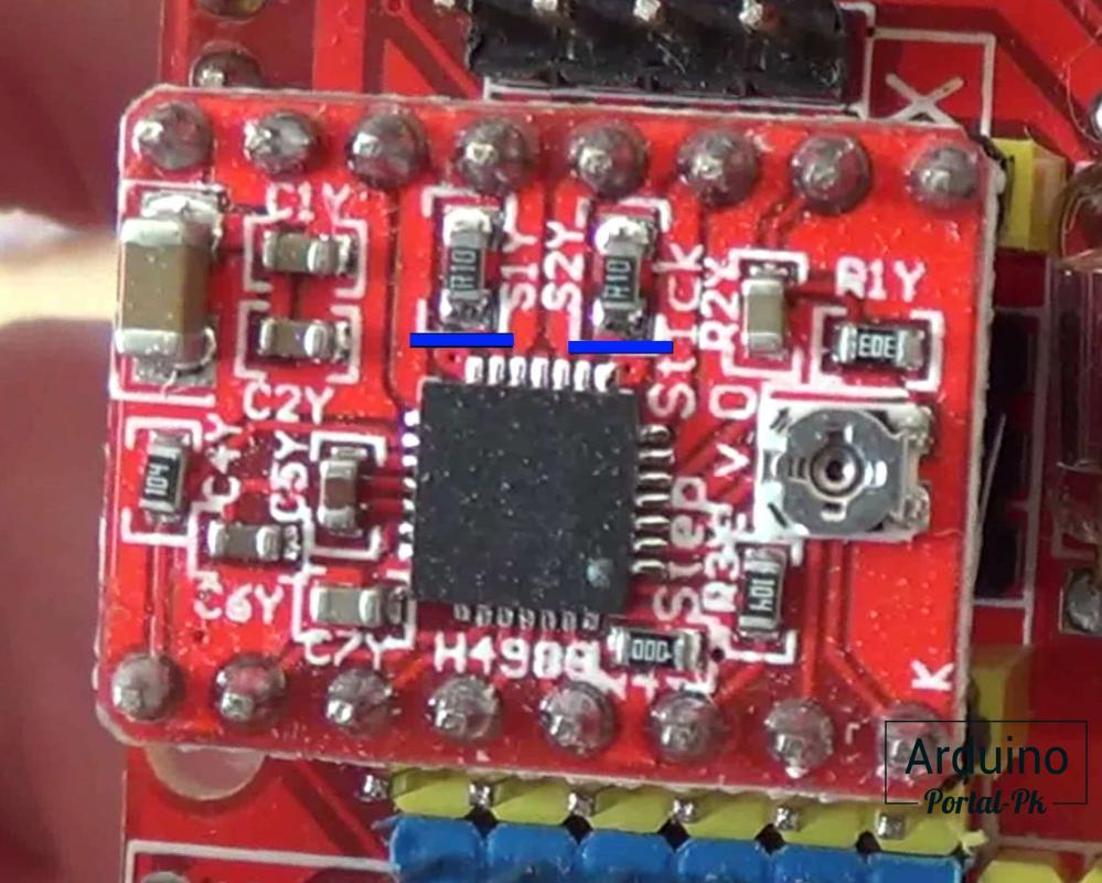 A4988 изменяется от номинала токочувствительных резисторов