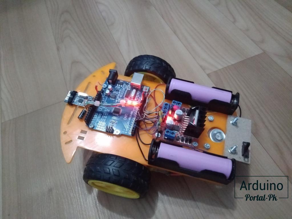 машинка на Arduino радио модуле nrf24l01 с пультом управления