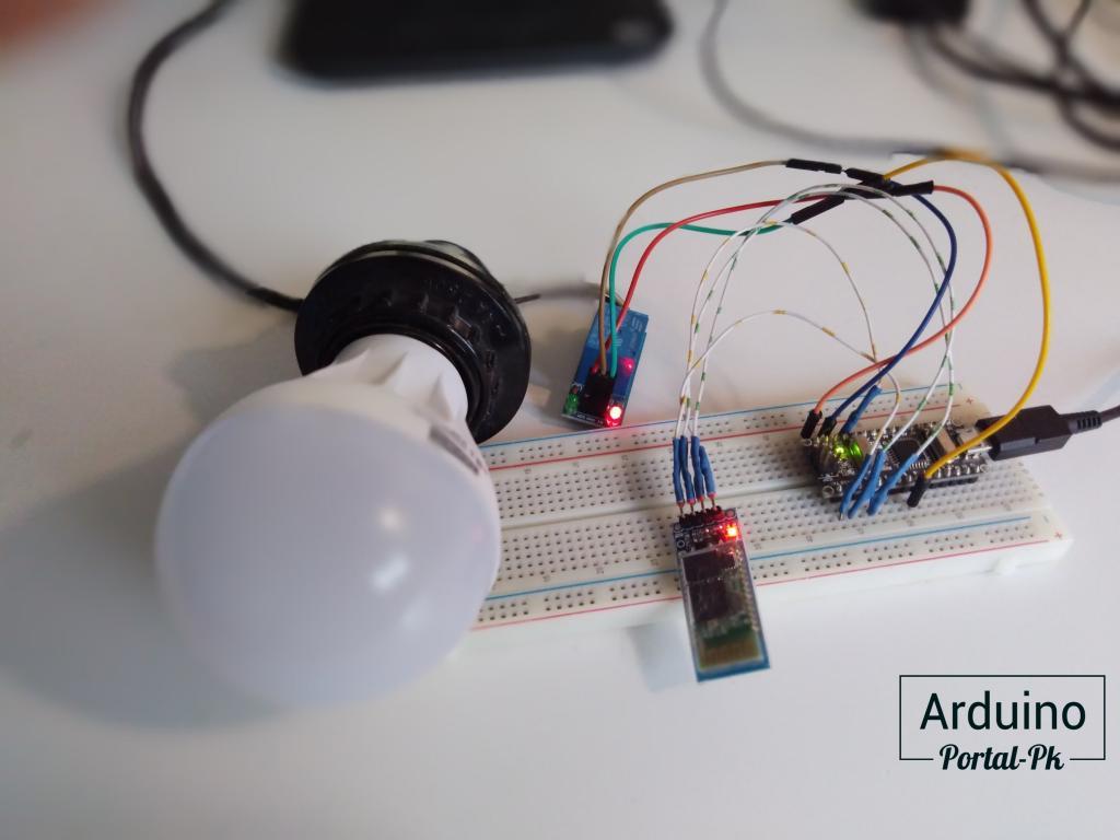 Arduino из урока: Bluetooth модуль HC-06. Управление Arduino с телефона